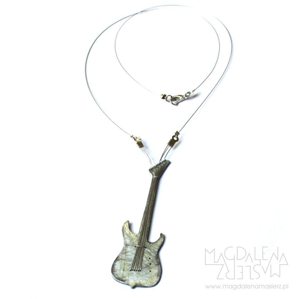 wisiorek-gitara